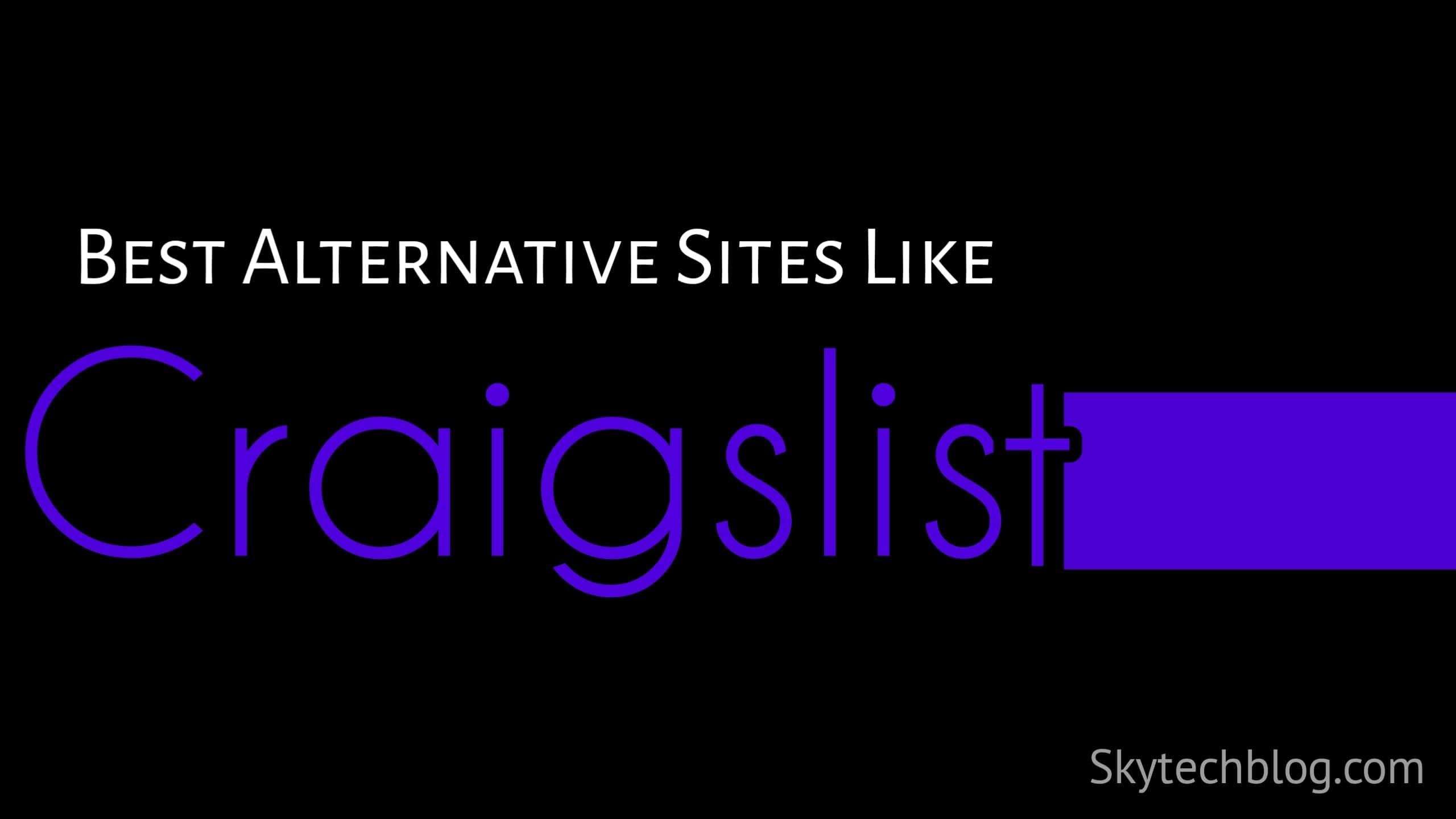 Site Like Craigslist